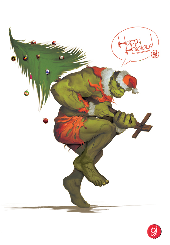How the Hulk Stole ChRistMas by deadlymike