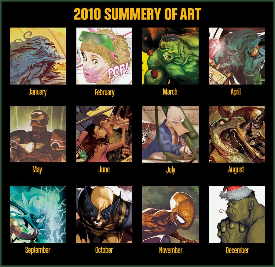 Deadly 2010 Year in Art by deadlymike