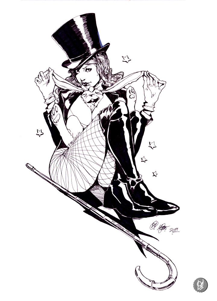Zatanna Commish by deadlymike