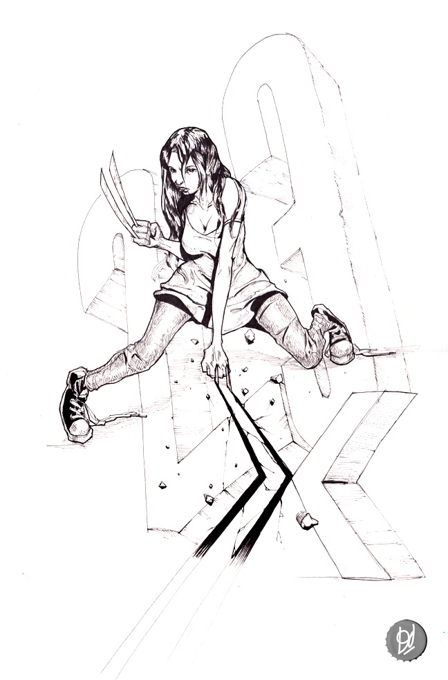 X-23 Commission by deadlymike