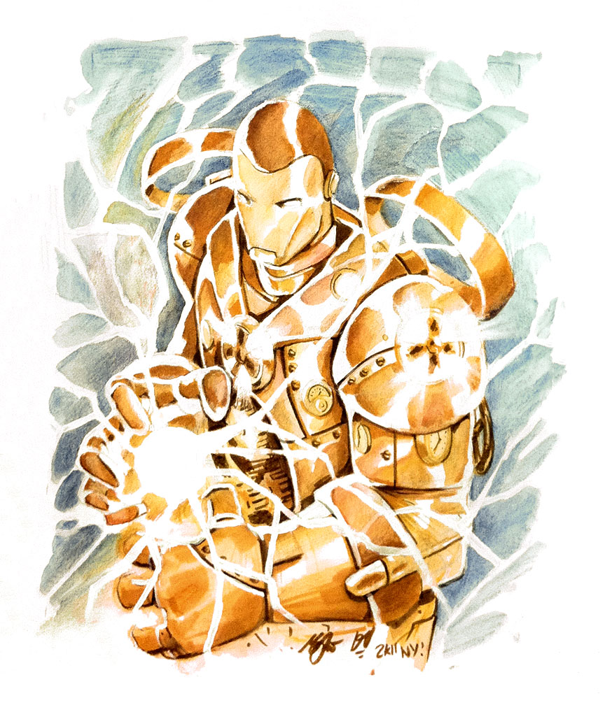 Iron Man NYCC Commission by deadlymike