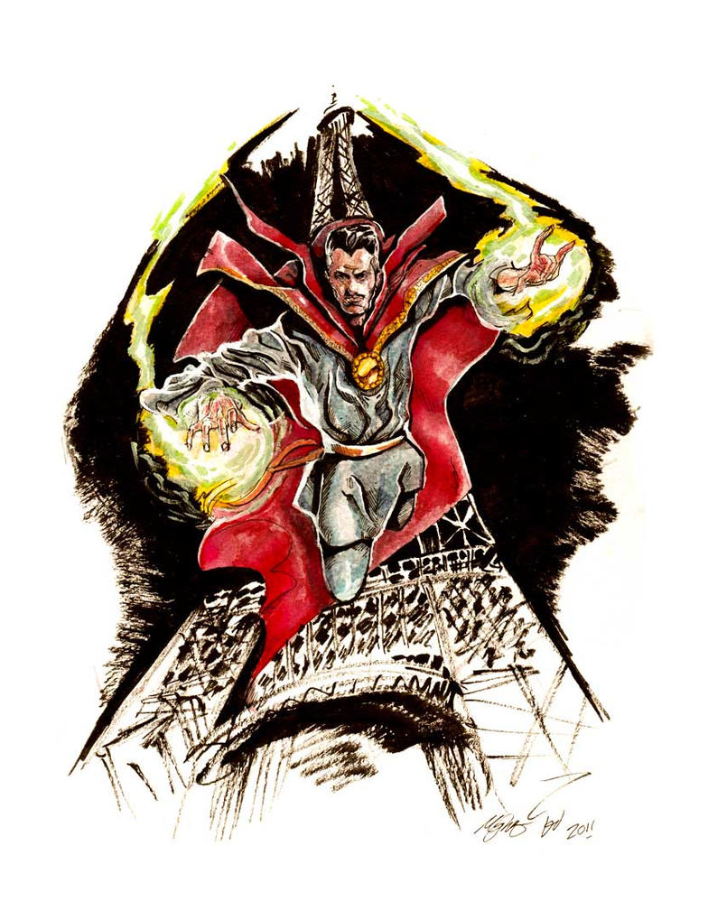 Dr Strange NYCC Commission by deadlymike