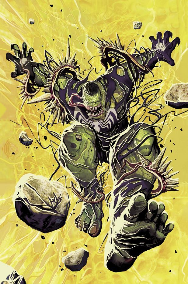 Hulk 4 Venom Variant by deadlymike