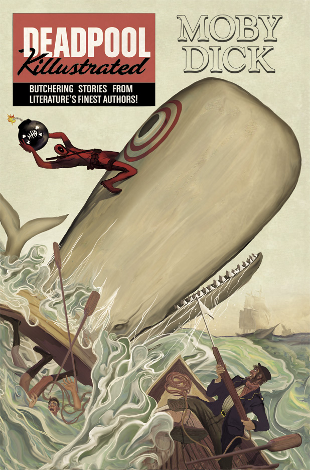 Deadpool Killustrated #1 by deadlymike