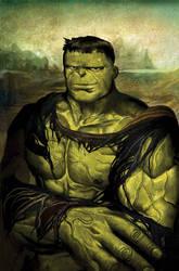Hulk Lisa - Time Travel Variant by deadlymike