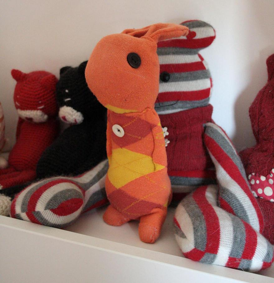 Sock bunny by camaseiz