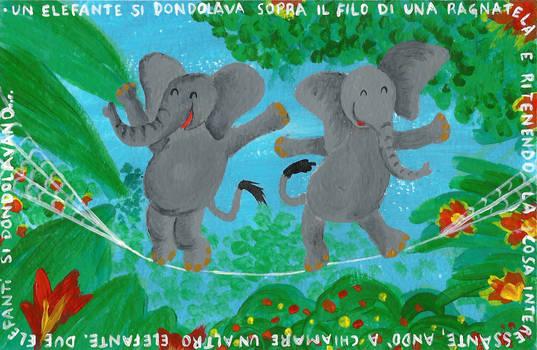 Un elefante si dondolava...