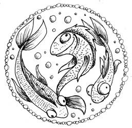 Inktober 2020 - Day 1: Fish