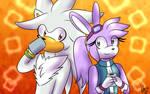 Silver and Melanie- Request by Bewwywafflez