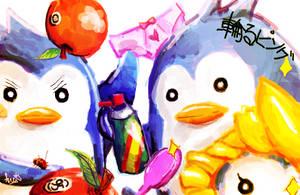 Mawaru Penguin by bbiru
