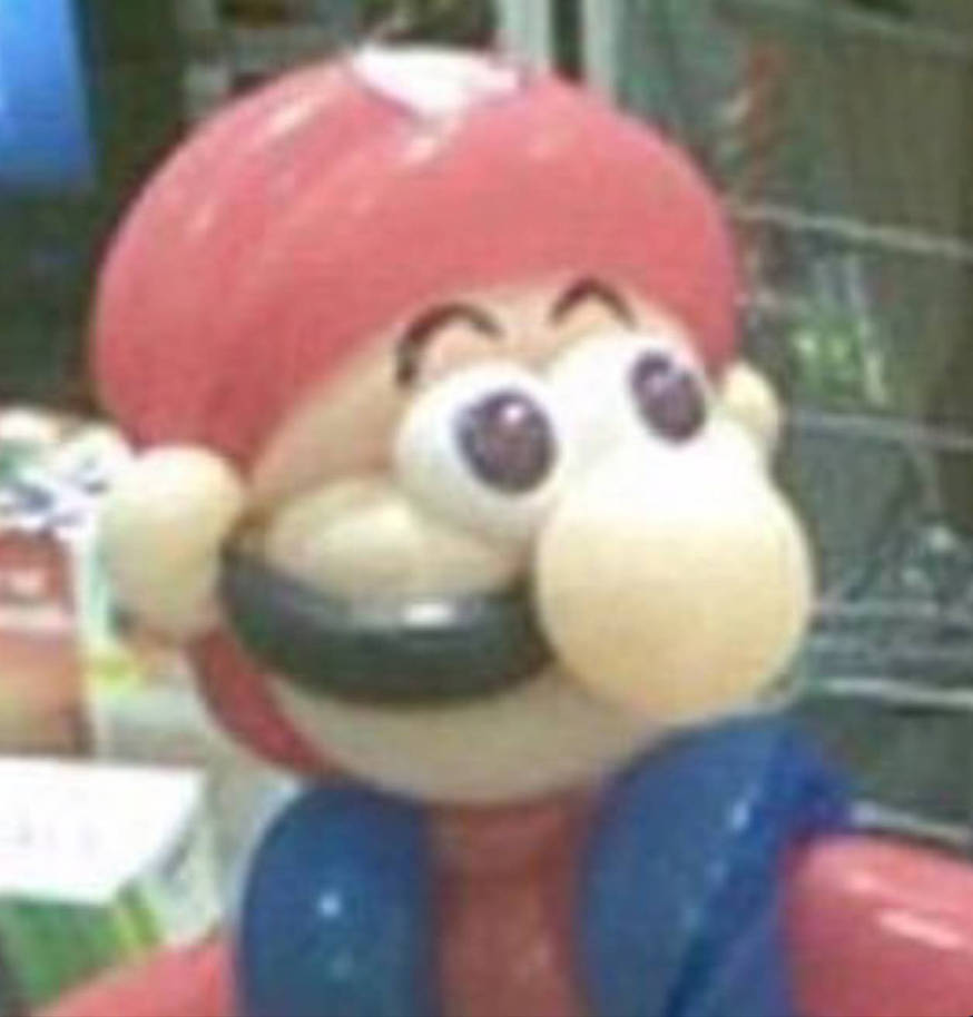 Cursed Mario Image by Fantheman-Rebooted on DeviantArt
