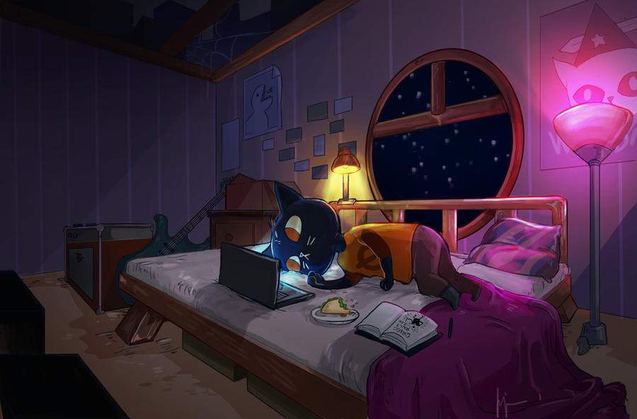Bedtime? Yes/No by crimsonian-leviosa