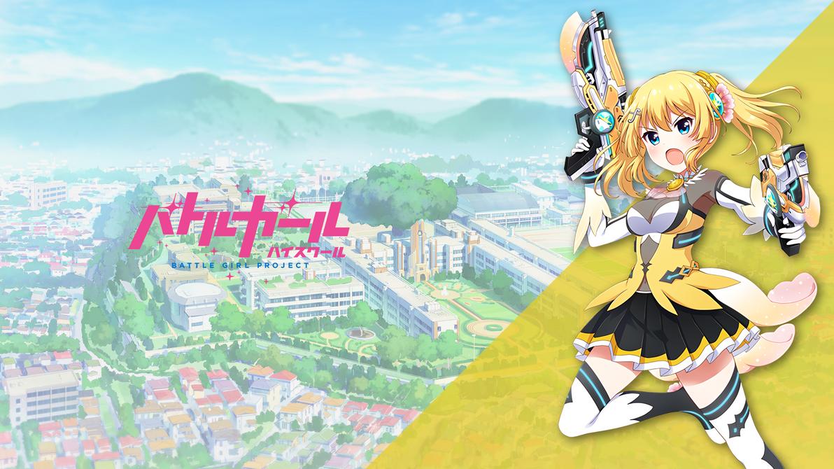 Battle Girl High School Kanon Version 1 Wallpaper by YusatsuNao