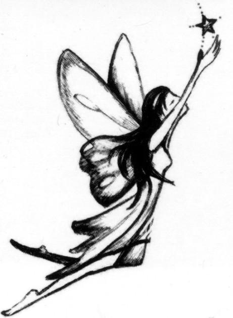 tribal fairy tattoo. fairy tattoos