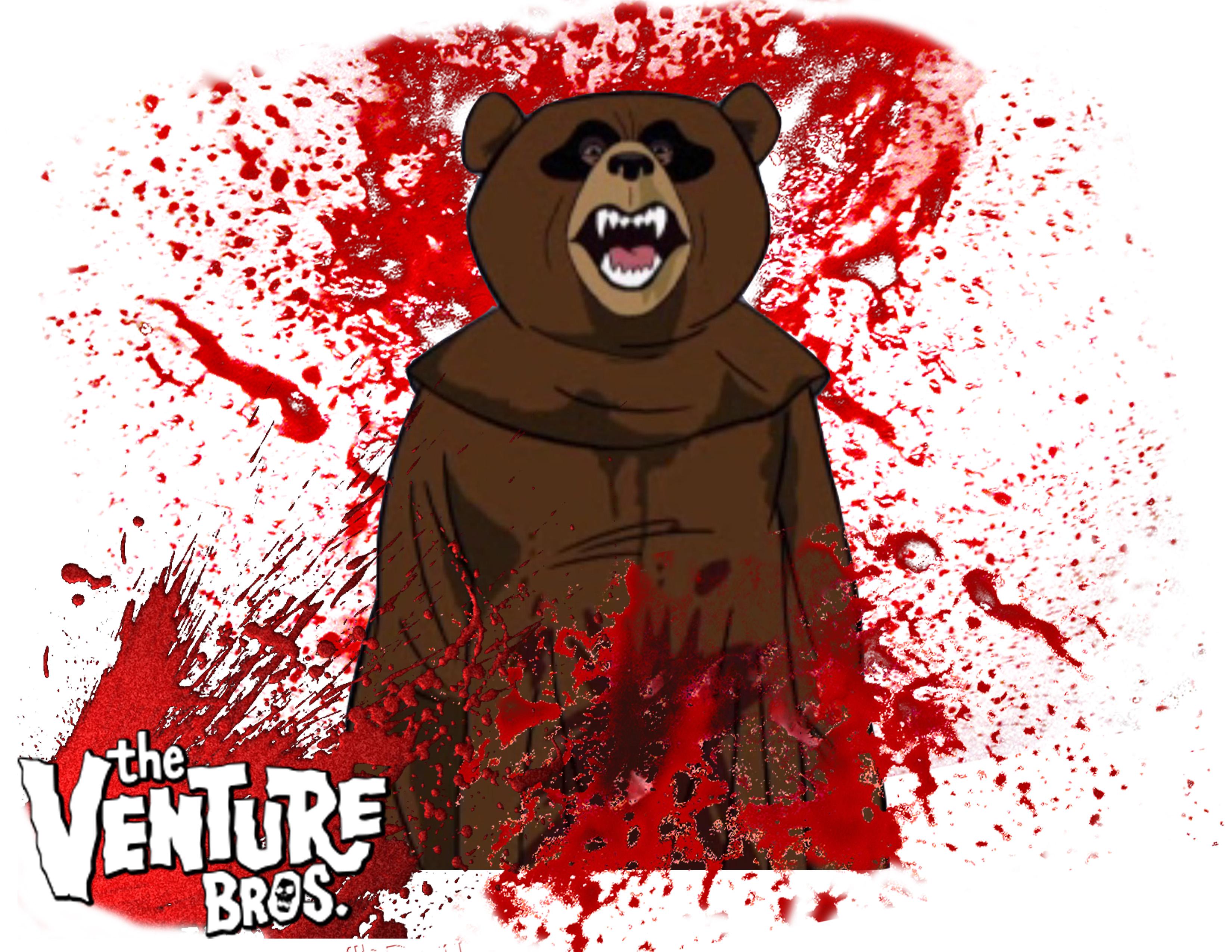 Venture bros season 4 tee scary bear by angelbaby88 on - Venture bros wallpaper ...