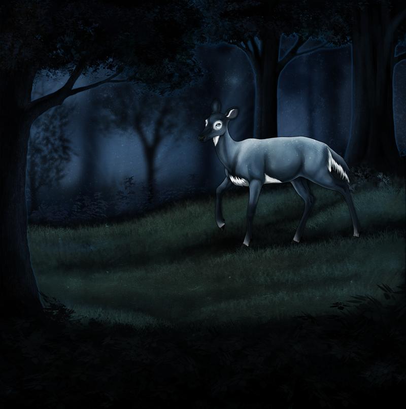 Isiel nightwalk by ShadiKSilence