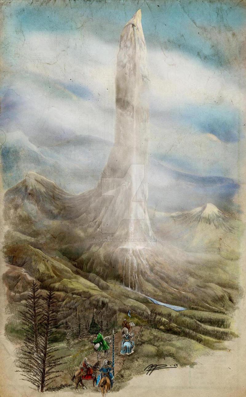 The Vale of Arryn by AbePapakhian