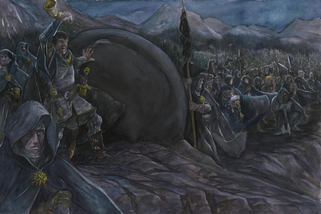 Oathbreakers, why have ye come by AbePapakhian