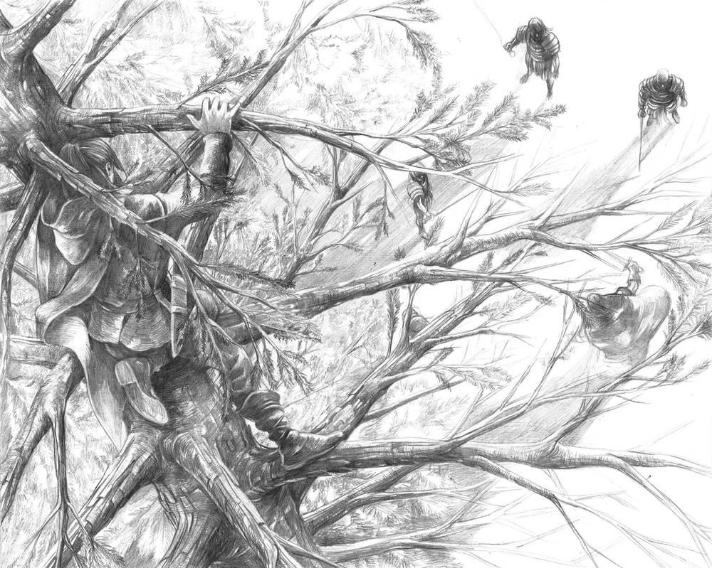 Last Day of Ser Waymar Royce by AbePapakhian