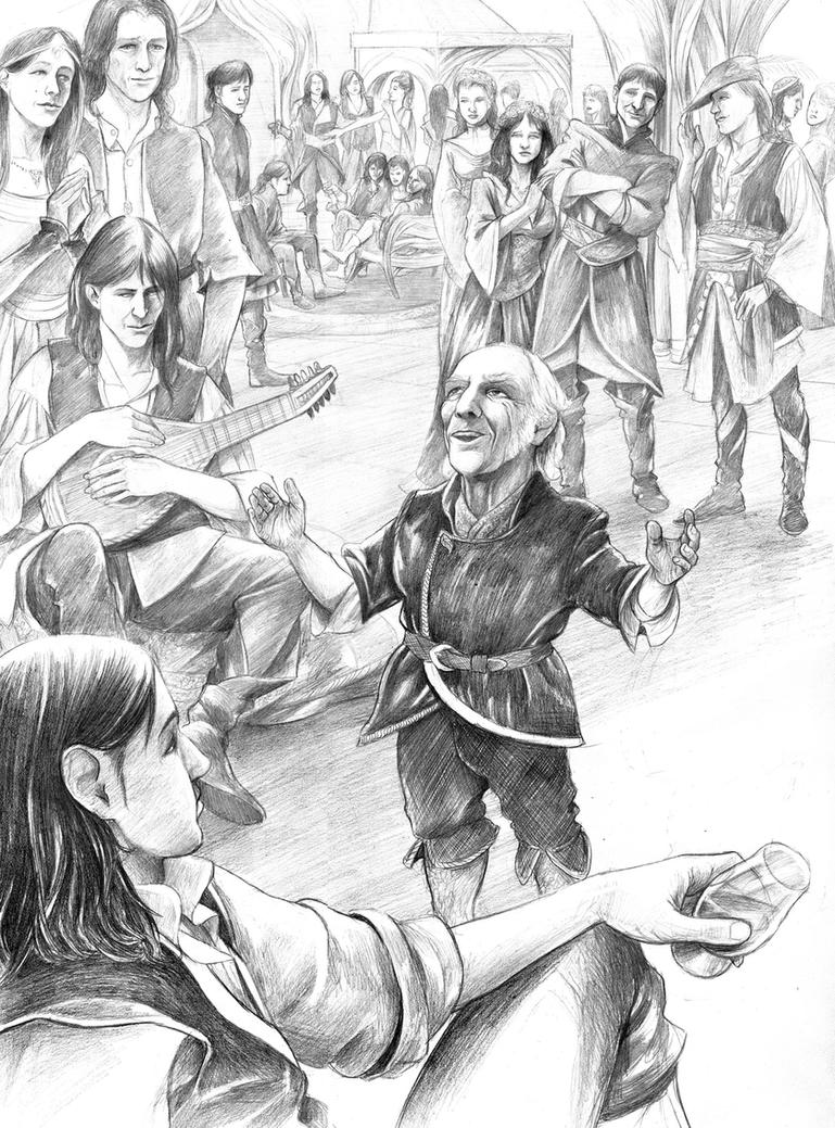 Bilbo's Recital... by AbePapakhian