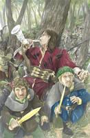 The Horn of Boromir by AbePapakhian