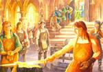 Renewed Shall be Sword that was broken by AbePapakhian