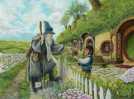 I am Gandalf by AbePapakhian