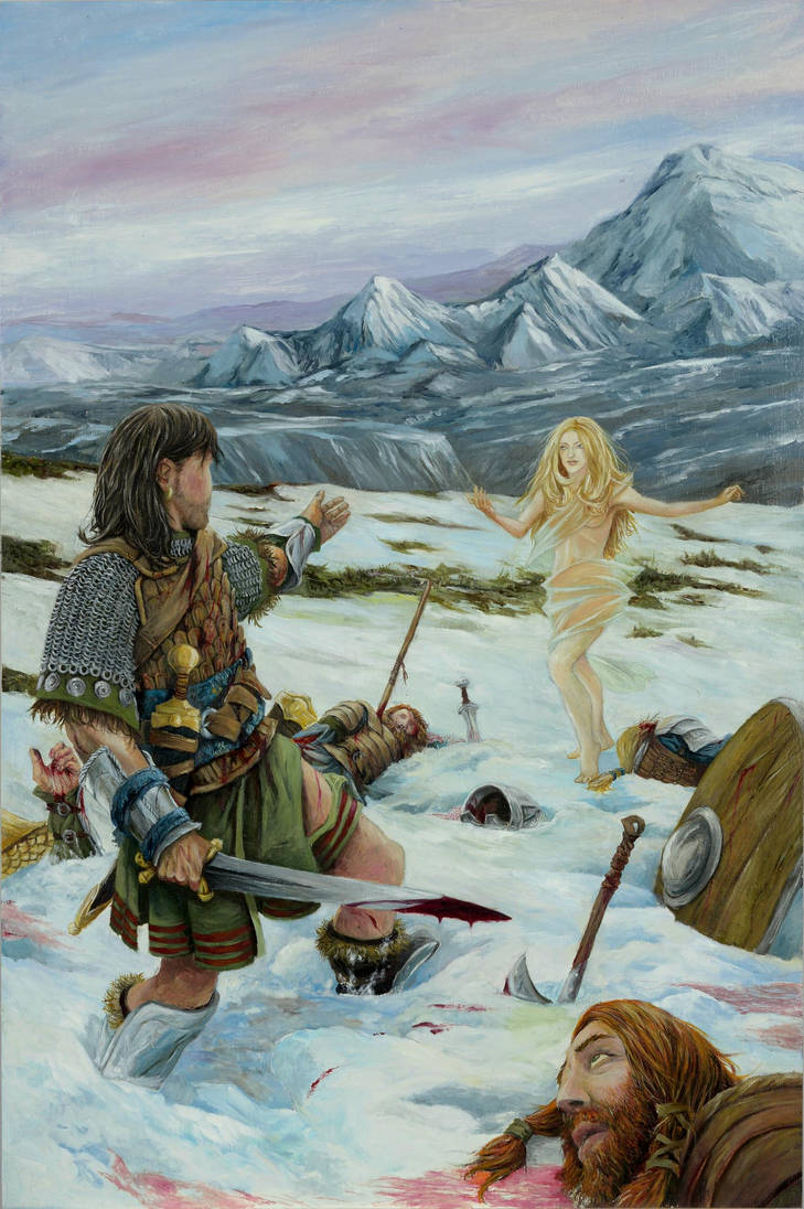 The Frost Giant's Daughter by AbePapakhian