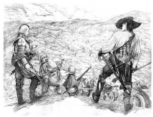Solomon Kane  in the Valley of Lost Souls