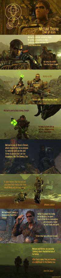 Fallout 4 OC: Inquisitor Michael Thorne