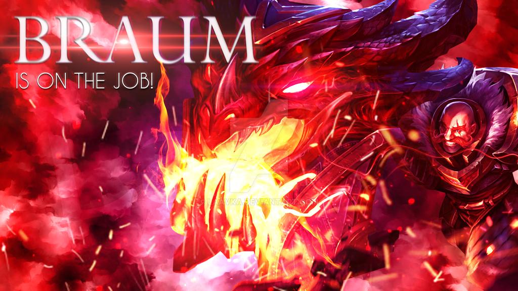 Dragonslayer Braum background by Laavka on DeviantArt