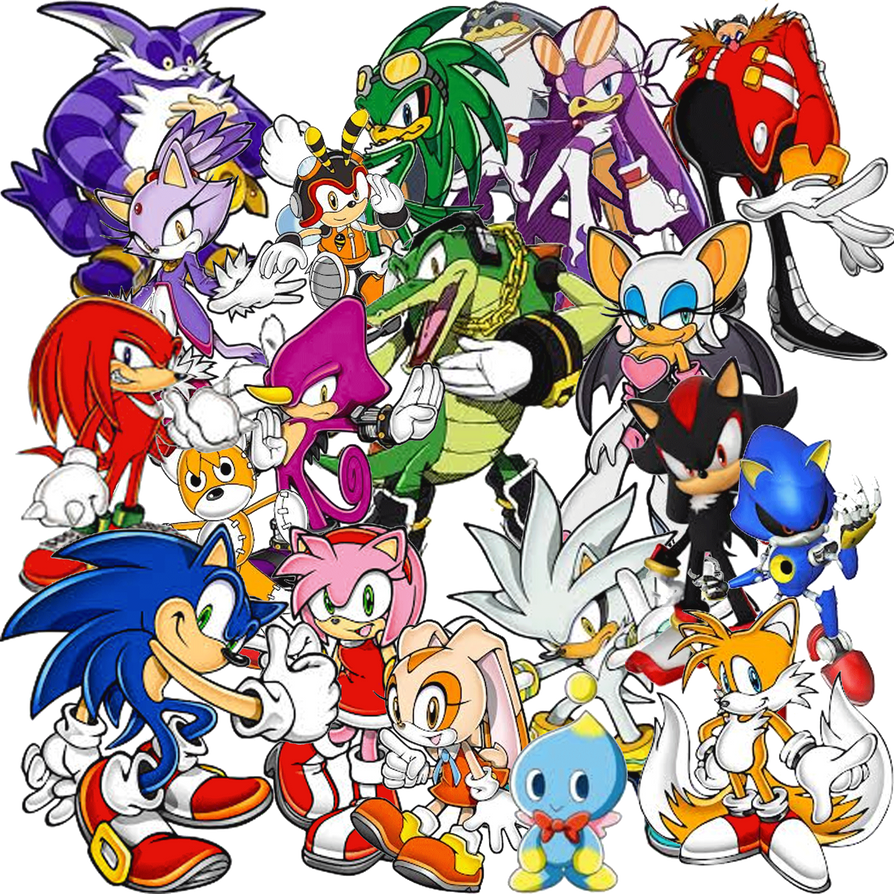 Sonic collage by fanis01