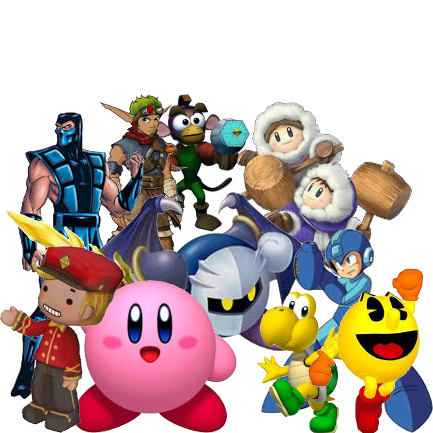 My favourite video game characters part 3 by fanis01
