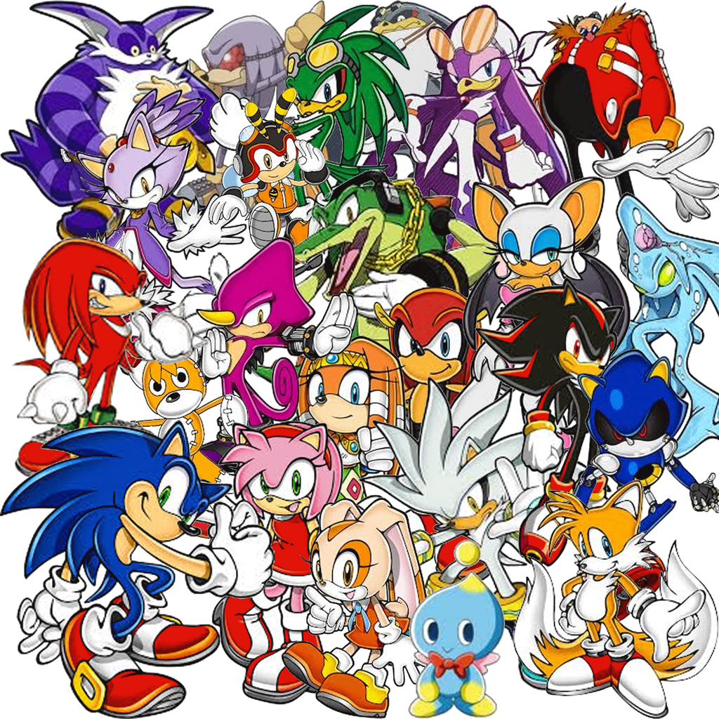 Sonic collage plus by fanis01