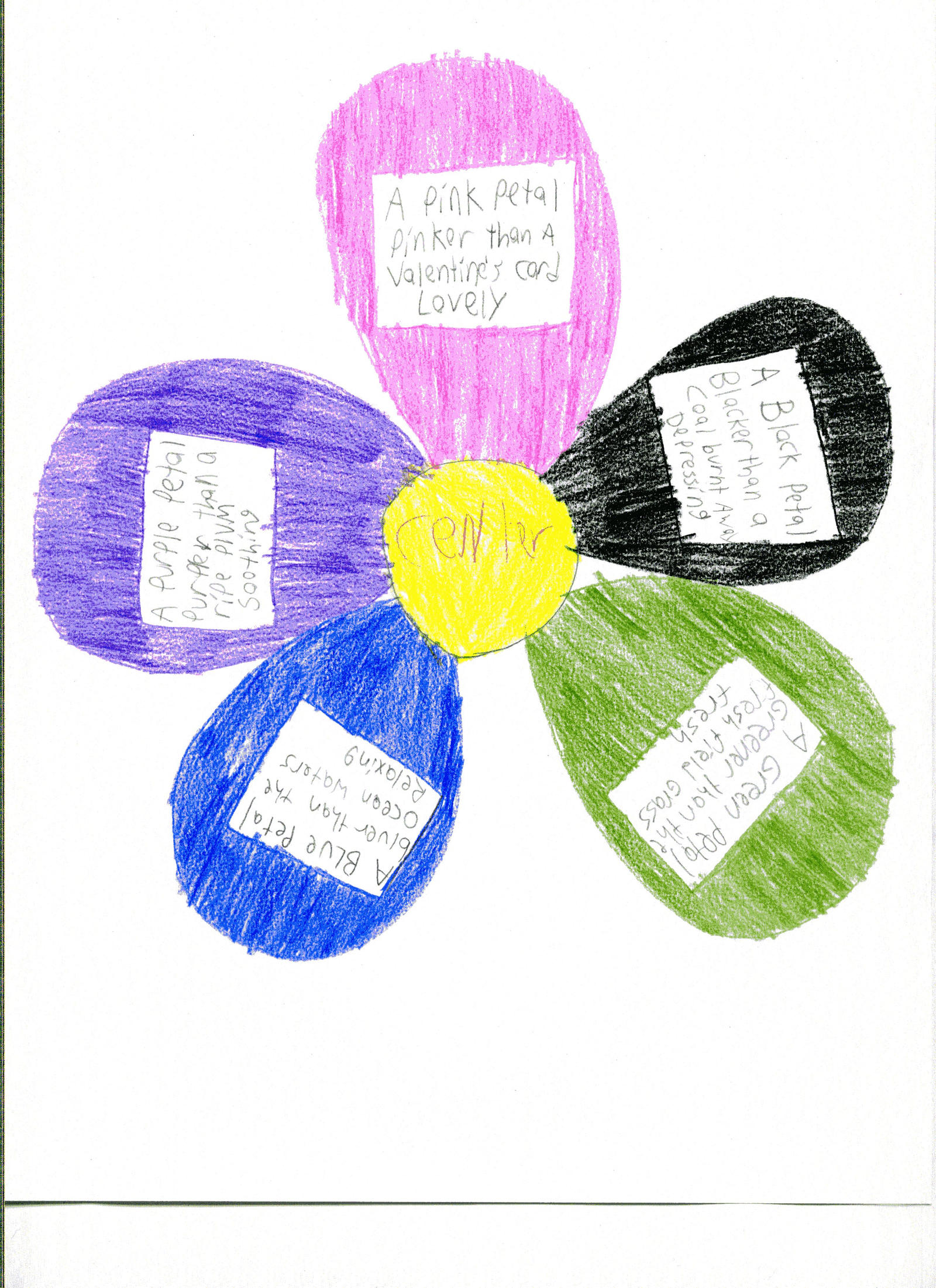 Colours of the petal flower poem by fanis01