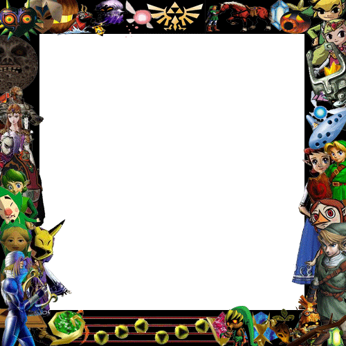 Deviant ID frame zelda theme by fanis01