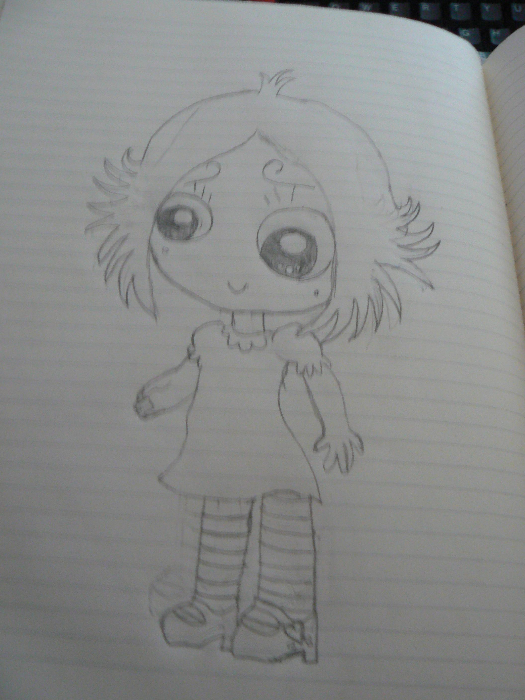 Ruby gloom (Pencil) by fanis01