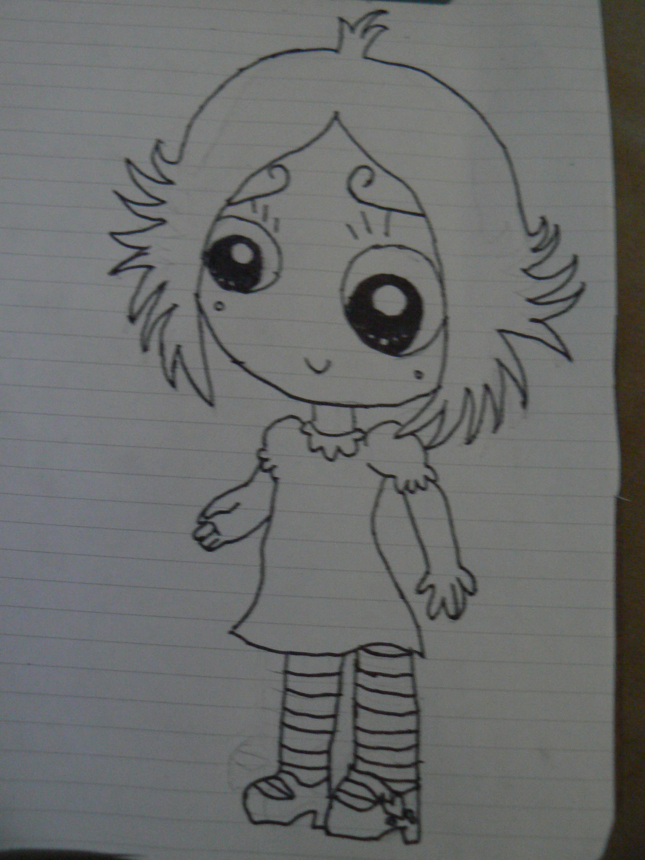Ruby Gloom (Inked) by fanis01