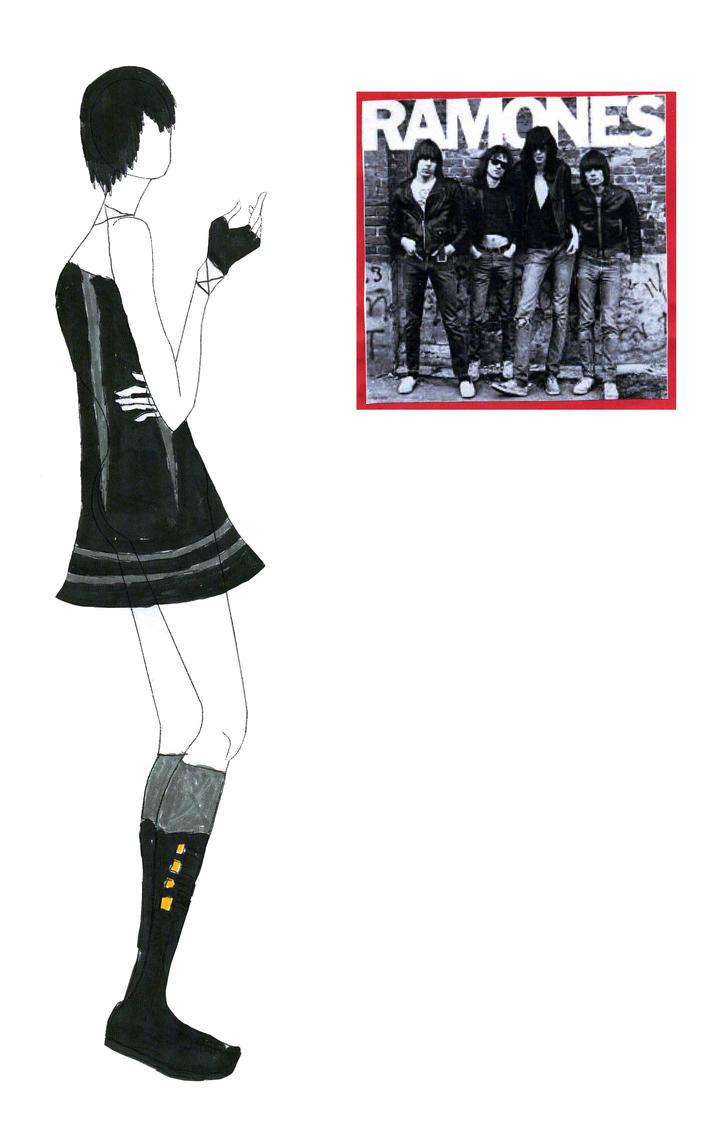 Fashion Design 3: Ramones by fanis01