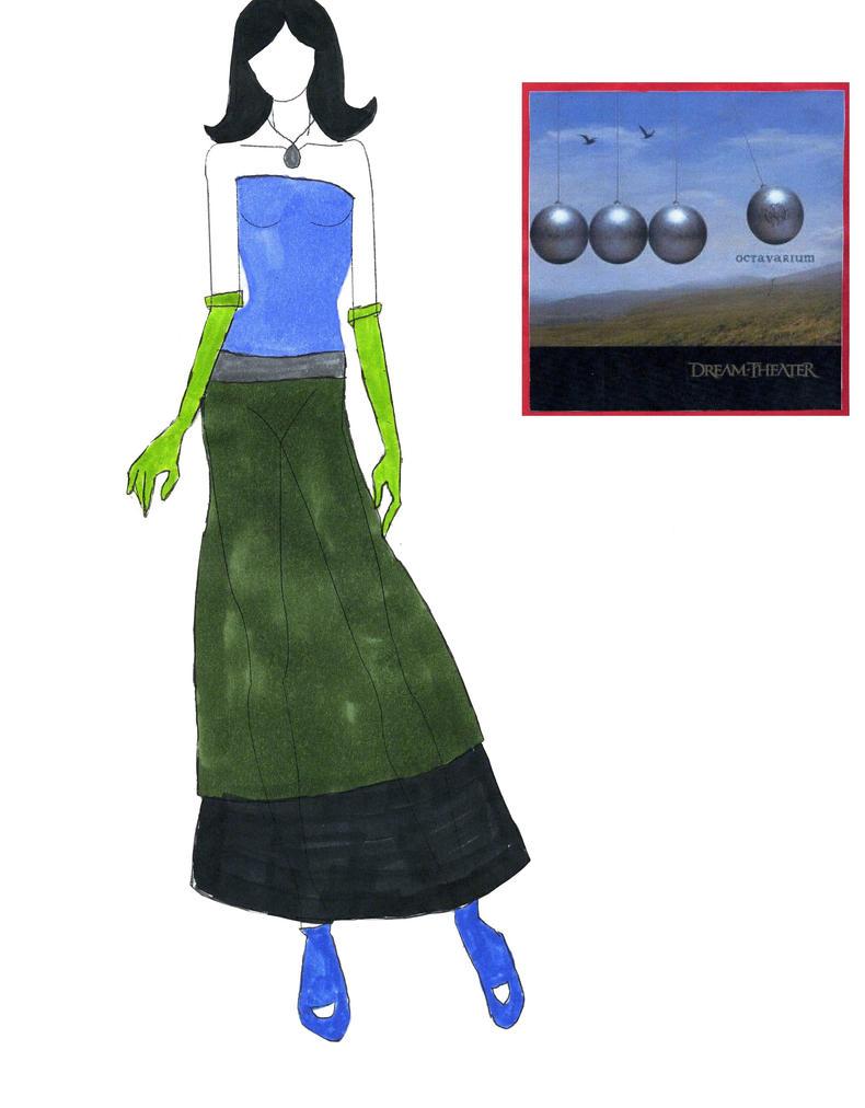 Fashion Design 6: Octavarium by fanis01