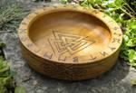 Valknot Ritual Bowl