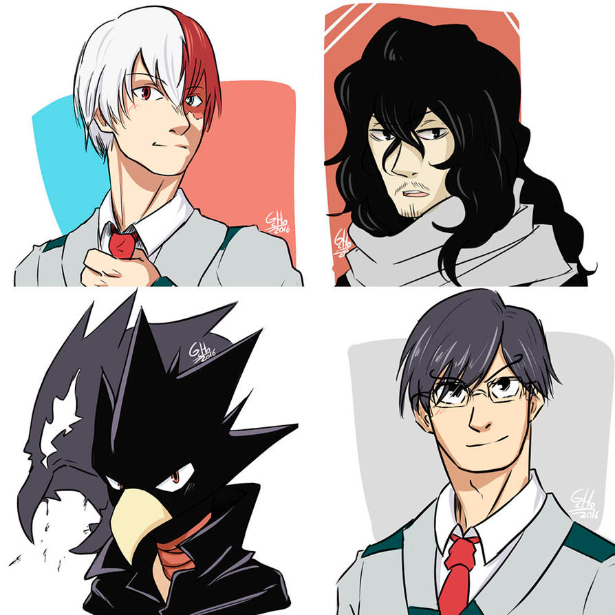My BNHA Favorite characters (Set2) by G-Cho