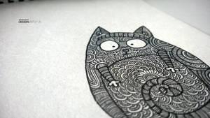 0.05mm Cat by kengooru by kengooru