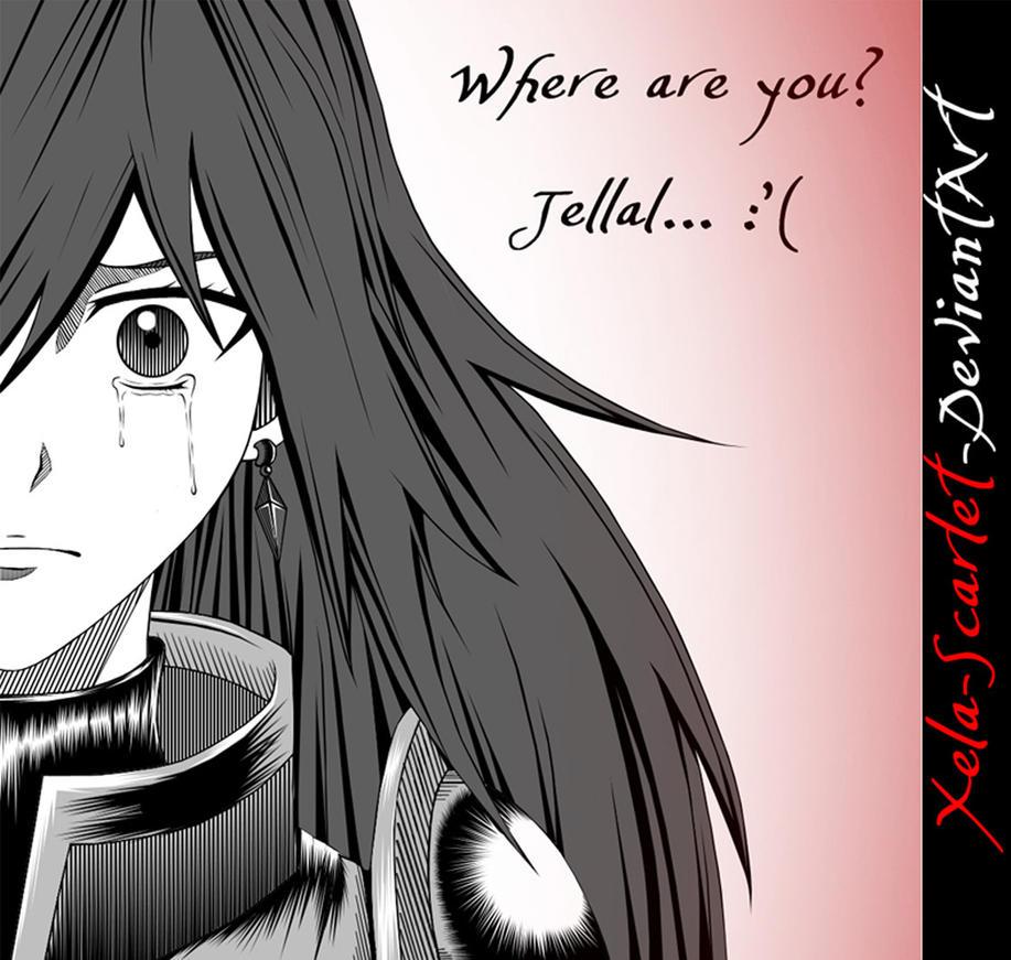 Erza Scarlet's Tears Manga Style by Xela-scarlet on DeviantArt