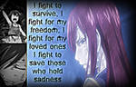 Erza, What I Fight for..