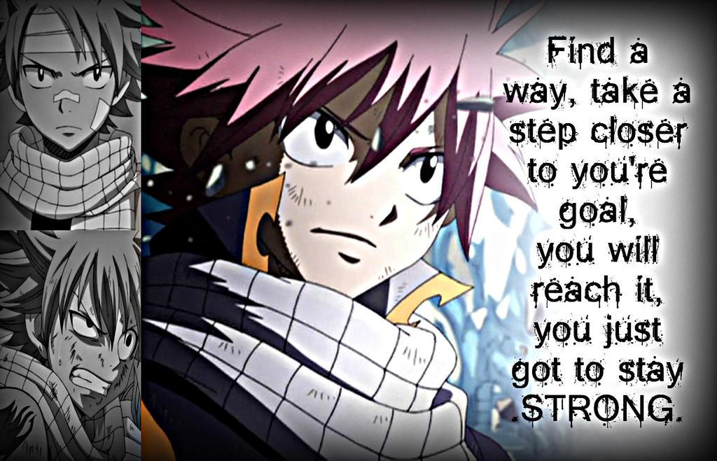 Natsu, Be Strong by Xela-scarlet on DeviantArt