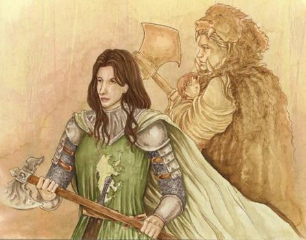 Dacey Mormont: No Proper Lady