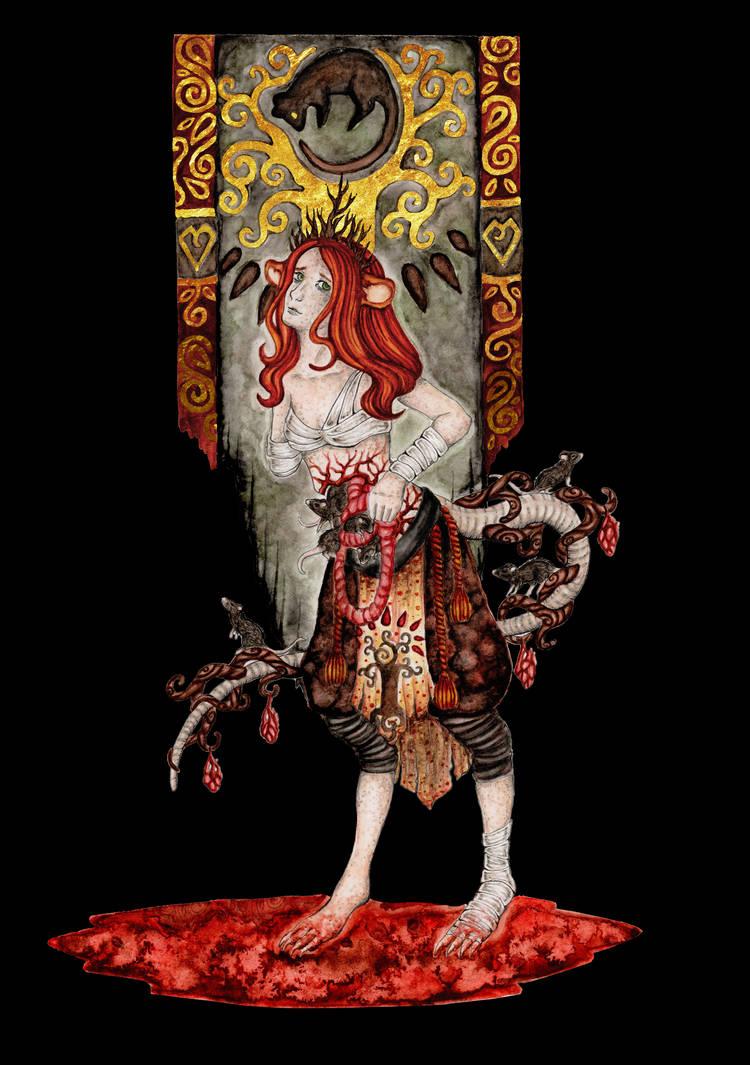 The Queen of Mice / Die Maeusekoenigin by Mohn-Fuchs