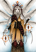 Mother of Moths / Die Mottenmutter by Mohn-Fuchs