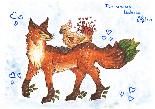 Fox and Turkey